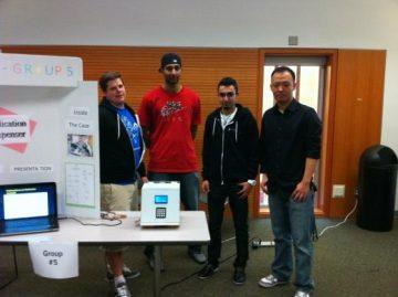 Medical Dispenser Design Wins First Place at Project Fair