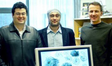 Yazan Boshmaf and Ildar Muslukhov Received Best Paper Award