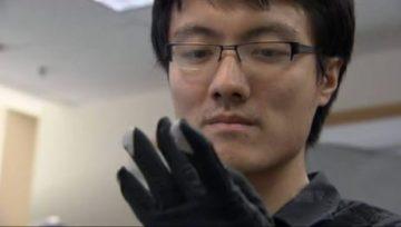 Johnty Wang creates speech using hand gestures