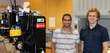 Beyer and Mohamed win Microsystem Design Award for 3D bioprinting to enhance drug testing
