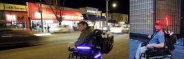 Tetra Society Brief: New automated light for wheelchairs