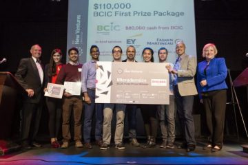 Microdermics Wins BCIC-New Ventures Competition