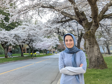 ECE Research Profile: Melika Shahriari, PhD '21